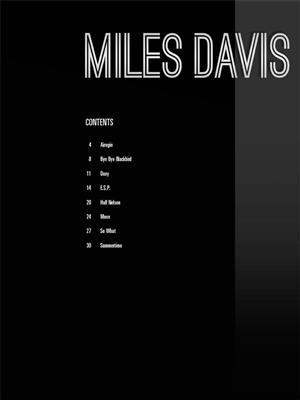 Miles Davis: Miles Davis: Trumpet, Cornet or Flugelhorn