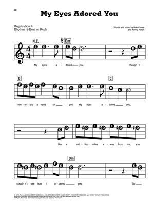 Four Seasons: Jersey Boys: Piano or Keyboard