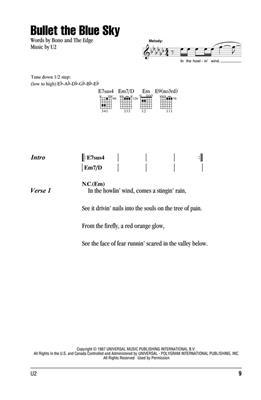 U2: U2 - Guitar Chord Songbook