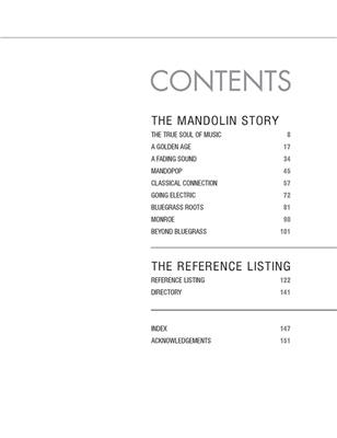 The Mandolin in America: Books on Music