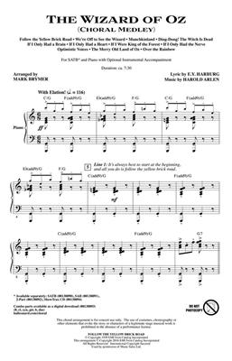The Wizard Of Oz - Choral Medley: Arr. (Mark Brymer): SATB