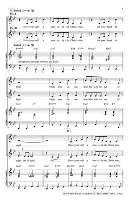 Hugh Martin: Have Yourself a Merry Little Christmas: Arr. (Roger Emerson): SATB