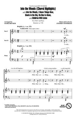 Stephen Sondheim: Into the Woods: Mixed Choir
