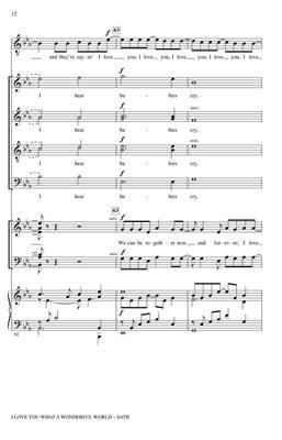 Conspirare: I Love You / What a Wonderful World: Arr. (Craig Hella Johnson): Double Choir