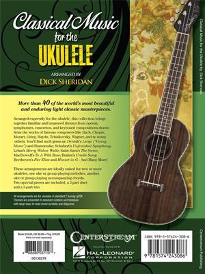 Classical Music for the Ukulele: Arr. (Dick Sheridan): Ukulele