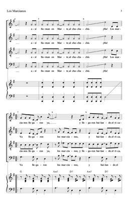 Rosendo Ruiz: Los Marcianos: Arr. (Maria Adela Alvarado): SATB