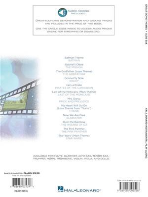Great Movie Themes - Alto Saxophone: Alto Saxophone