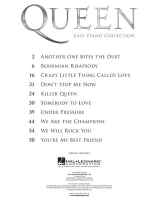 Queen: Queen: Easy Piano Collection: Piano or Keyboard