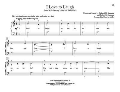 Teaching Little Fingers to Play Movie Music: Arr. (Carolyn Miller): Piano