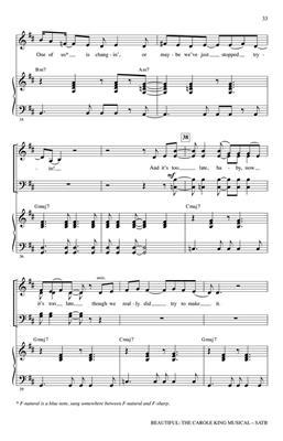 Roger Emerson: Beautiful: The Carole King Musical: Mixed Choir