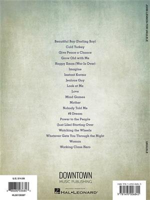 John Lennon: John Lennon for Ukulele: Ukulele