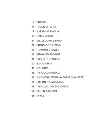Grateful Dead: The Very Best of Grateful Dead: Guitar or Lute