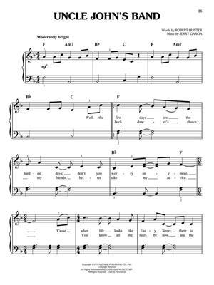 Grateful Dead: Grateful Dead: Easy Piano