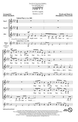 Pharrell Williams: Happy: Women's Choir