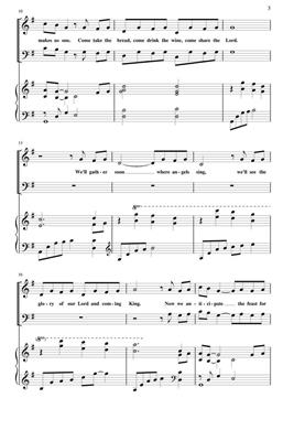 Bryan Jeffery Leech: Come Share The Lord: Arr. (Keith Christopher): SAB