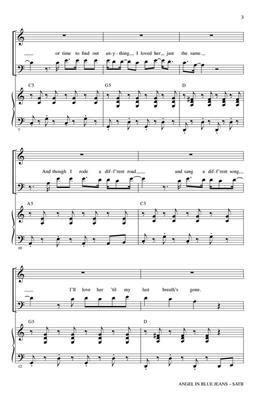 Train: Angel in Blue Jeans: Mixed Choir