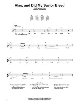 4-Chord Hymns for Guitar: Guitar