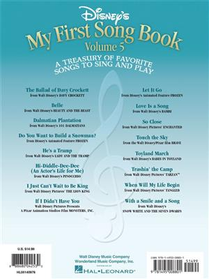 Disney's My First Songbook Vol. 5: Piano or Keyboard