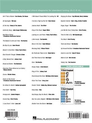 The Ukulele 3 Chord Songbook: Ukulele