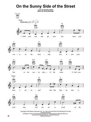 Jazz Standards for Ukulele: Ukulele Solo