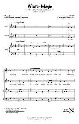Catherine DeLanoy: Winter Magic: 2-Part Choir