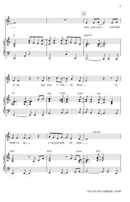 Carole King: You've Got a Friend: Mixed Choir