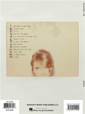 Taylor Swift: Taylor Swift - 1989: Ukulele
