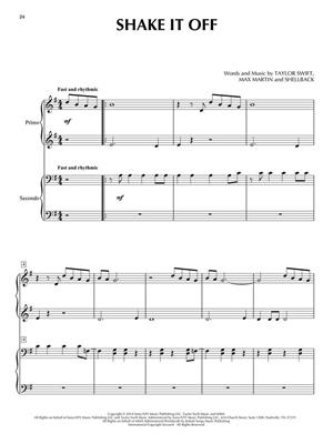Taylor Swift for Piano Duet: Piano Duet