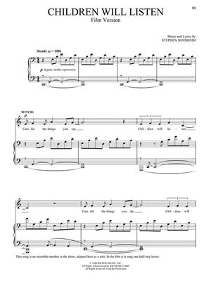 Stephen Sondheim: Into the Woods: Vocal