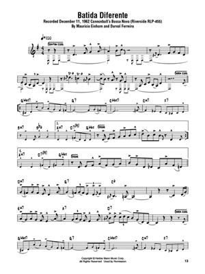 Cannonball Adderley: Cannonball Adderley – Omnibook: C-Instruments (Treble Clef)