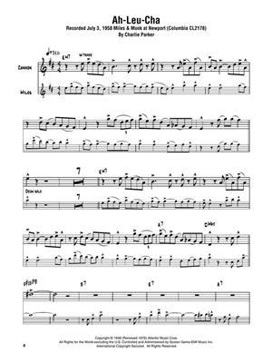 Cannonball Adderley: Cannonball Adderley – Omnibook: E-Flat Instruments