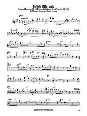 Cannonball Adderley: Cannonball Adderley – Omnibook: B-Flat Instruments