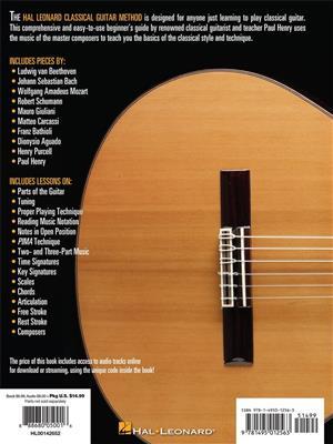 Hal Leonard Classical Guitar Method