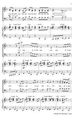 Arthur Freed: Singin' in the Rain: Mixed Choir