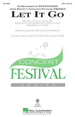 Pentatonix: Let It Go: Arr. (Roger Emerson): SAB