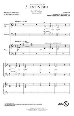 Pentatonix: Silent Night: Arr. (Roger Emerson): SAB