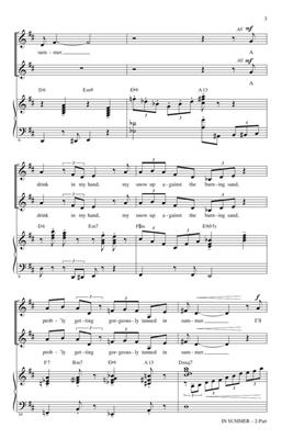 Kristen Anderson-Lopez: In Summer: Arr. (Alan Billingsley): 2-Part Choir