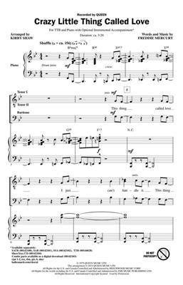 Freddie Mercury: Crazy Little Thing Called Love: Arr. (Kirby Shaw): SATB