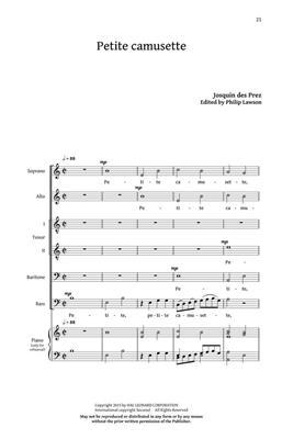 Josquin des Prés: Five Renaissance Editions: Mixed Choir