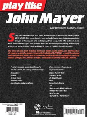 John Mayer: Play Like John Mayer: The Ultimate Guitar Lesson: Guitar or Lute