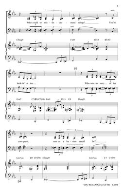 Diana Krall: You're Looking At Me: Arr. (Kirby Shaw): SATB