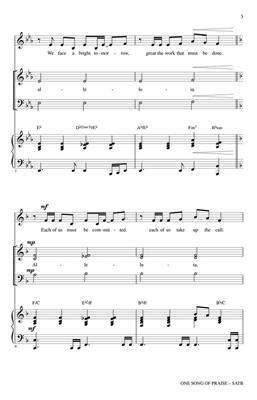 Joseph M. Martin: One Song of Praise: Mixed Choir