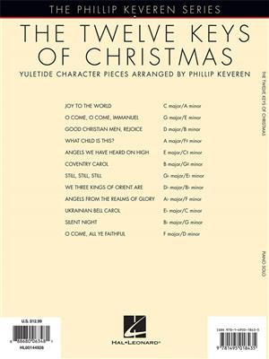 The Twelve Keys of Christmas: Arr. (Phillip Keveren): Piano