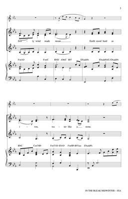 Christina Rosetti: In the Bleak Midwinter: Women's Choir