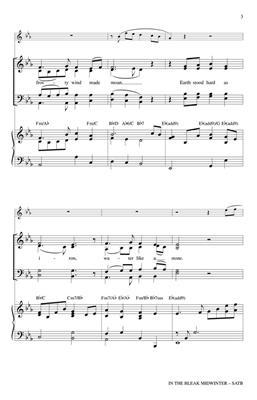 Mark Brymer: In the Bleak Midwinter: Mixed Choir