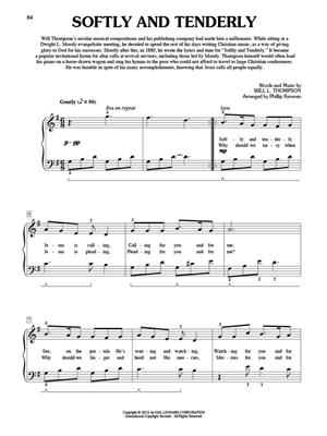 Weekly Worship - 52 Hymns for a Year of Praise: Arr. (Phillip Keveren): Easy Piano