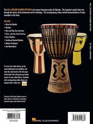 Paul Jennings: Hal Leonard Djembe Method: Percussion