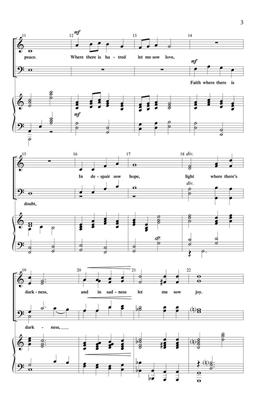 J. Jerome Williams: An Instrument of Thy Peace: SATB