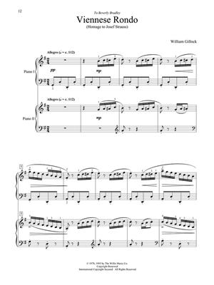 William Gillock: Accent On Two Pianos - 2 Pianos 4 Hands: Piano or Keyboard