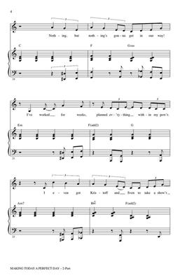Kristen Anderson-Lopez: Making Today a Perfect Day: Arr. (Roger Emerson): 2-Part Choir